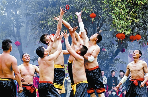 """广西推出""""壮族三月三 八桂嘉年华""""系列活动"""
