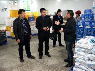 融水县:开展节前安全检查