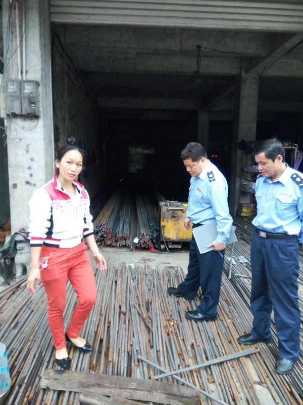 大化县工商局开展建材市场专项整治