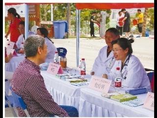 广西医科大学附属肿瘤医院开展肿瘤防治宣传周活动