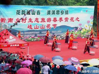 湖南:衡南县乡村生态旅游之岐山山花节盛大开幕