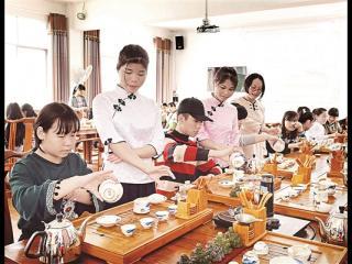 """昭平:2017广西第九届""""全民饮茶日 茶香满校园""""活动"""