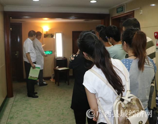 八步区:150名职工(农民工)享受免费体检