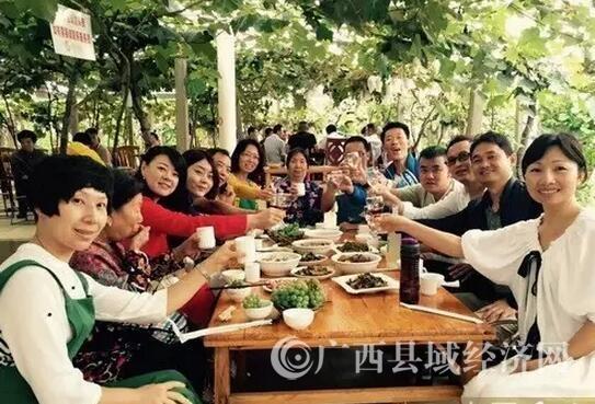 """鹿寨县举办2017第三届葡萄文化节暨中渡""""五・二八""""民俗文化节"""