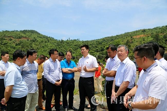 广东客商到防城区考察50亿元特色旅游产业园区项目