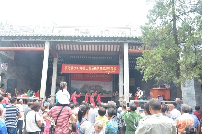 粤东会馆歌舞表演