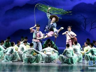 舞剧《朱�q》在南宁上演