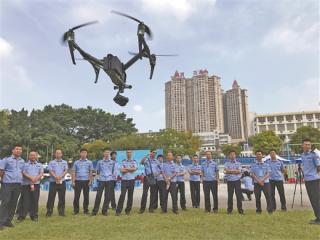 南宁市警方首届警用无人机培训班拉开帷幕