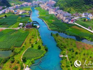 广西瑶乡母亲河 生态美如画