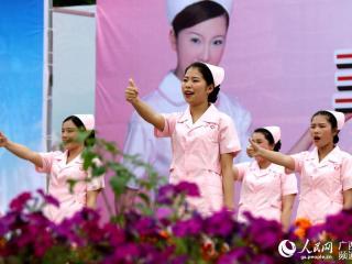 三江:载歌载舞迎接护士节