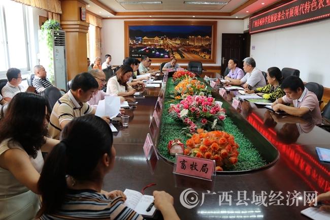 广西县促会项目专家组赴南丹开展现代特色农业示范区规划调研
