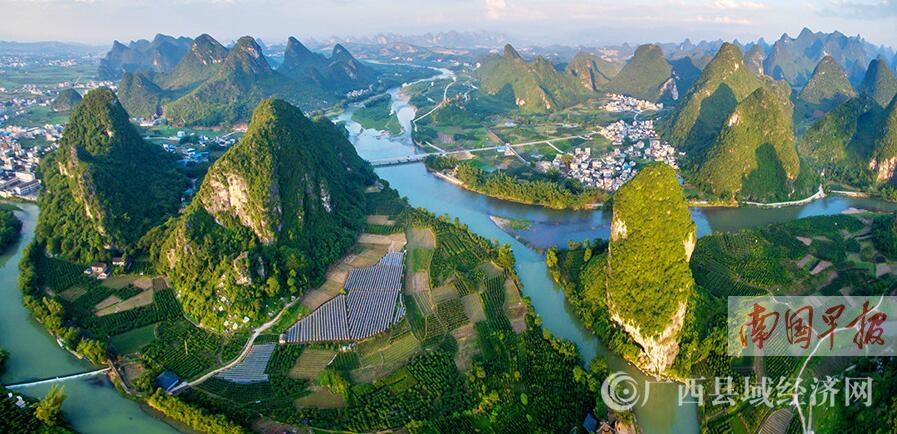 聚焦广西唯一国家重点湿地:荔浦荔江国家湿地公园