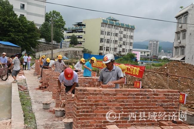 蒙山县举行农民工劳动技能大赛