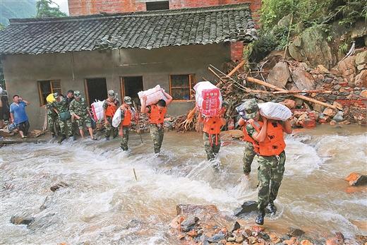 广西13市58县(区、市)受灾 直接经济损失43.84亿