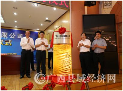 广西农担公司成立一周年担保业务授信超4亿元