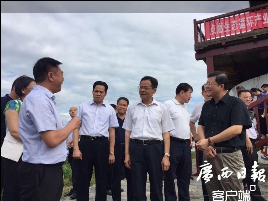 全区县域经济发展大会暨年中工作会议第二考察组(富川、藤县、平南、北流)