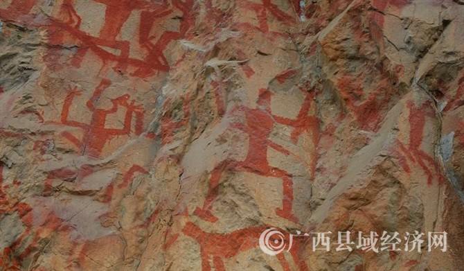 左江花山岩