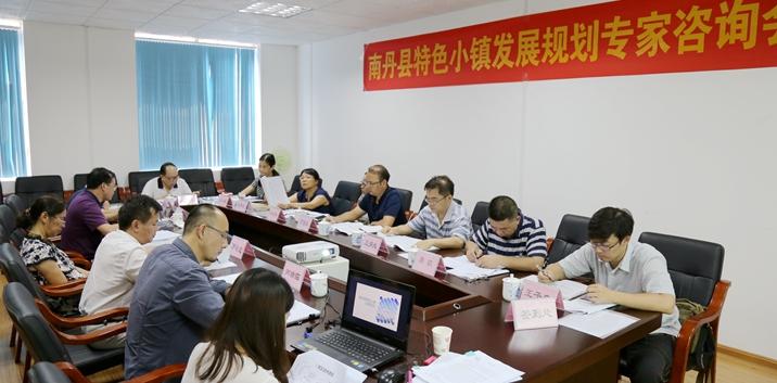 《南丹县特色小镇发展规划》专家咨询会在广西县促会召开