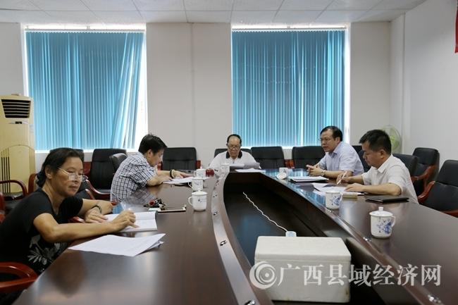 广西县促会召开会议传达学习全区县域经济发展大会精神及讨论换届选举事宜