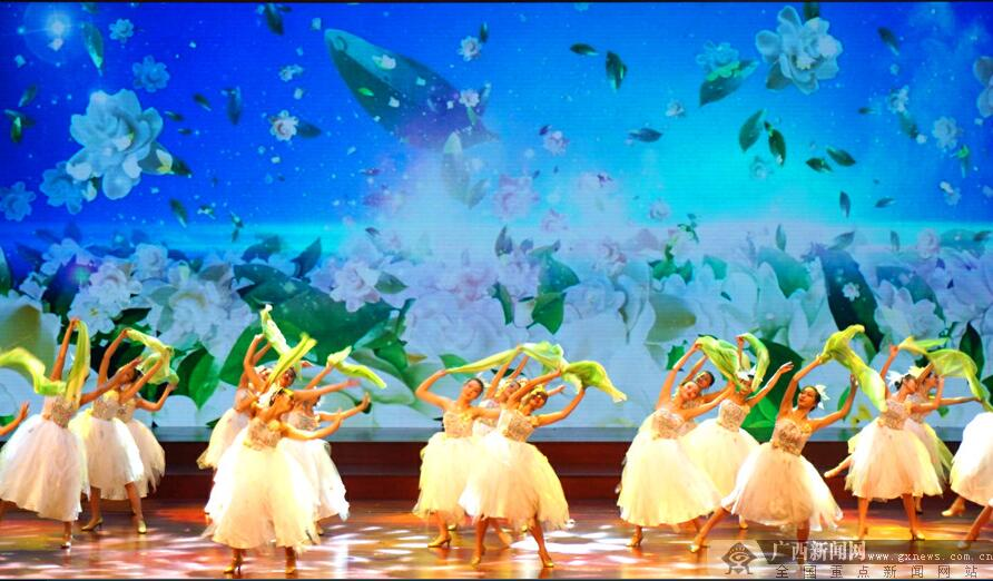 2017年中国(横县)茉莉花文化节开幕