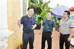 黄俊华到长洲区调研指导县域经济发展工作