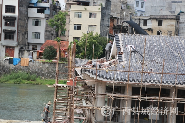 蒙山县历史文化园项目加紧建设