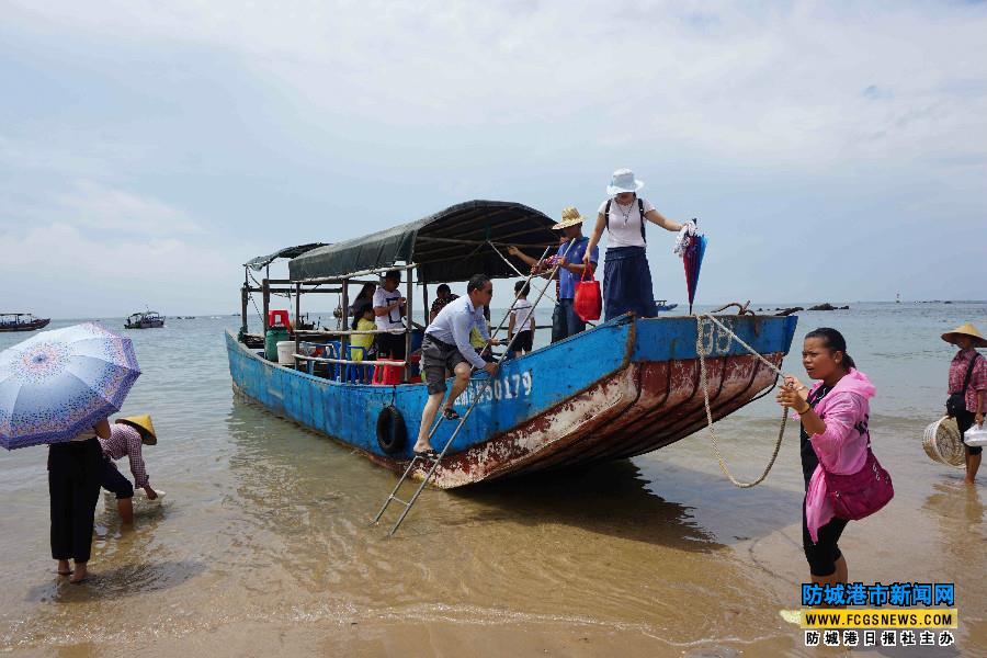 防城港:开海啦 客来了