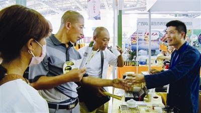 凤山特色农产品亮相长春农博会