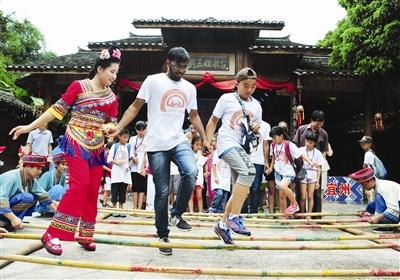170名中外学子感受壮乡文化