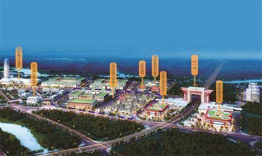 """中国东兴-越南芒街跨境经济合作区:""""一带一路""""上的璀璨明珠"""