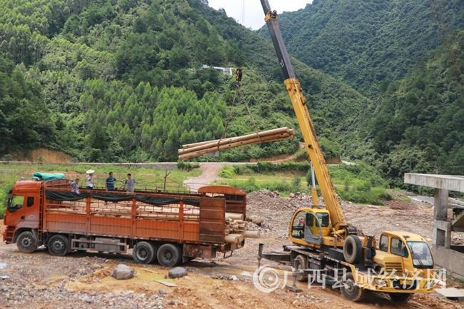 蒙山县羽生谷养生休闲度假区加紧建设