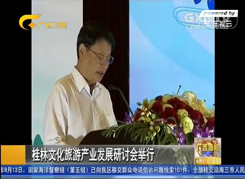 桂林文化旅游产业发展研讨会举行