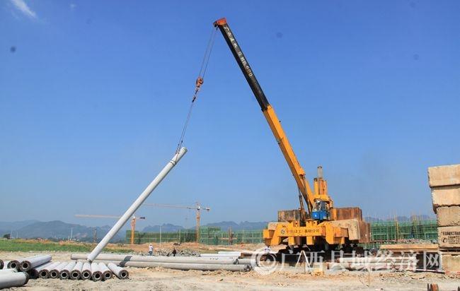 [宁明县]城中镇易地扶贫搬迁安置区项目有序推进