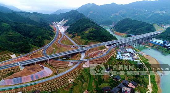 桂三高速公路正式通车 结束龙胜不通高速历史