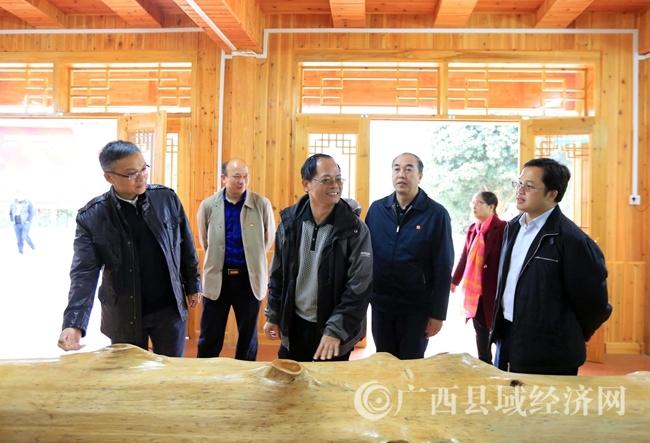 """[融安县]""""林海杉源""""香杉生态产业核心示范区建成验收"""