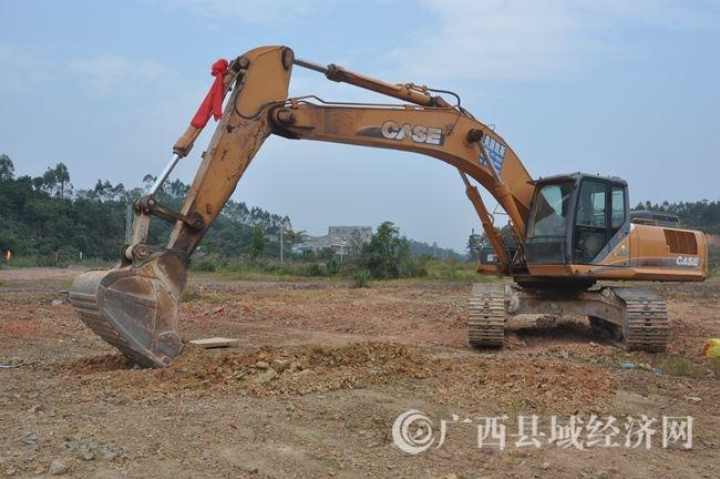 [防城区]广西汇圣啤酒工程项目开工建设