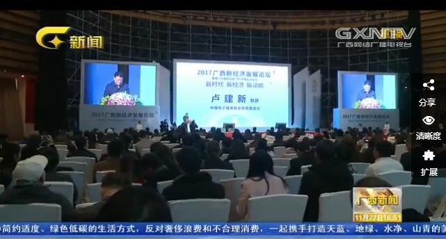 2017广西新经济发展论坛在南宁举行