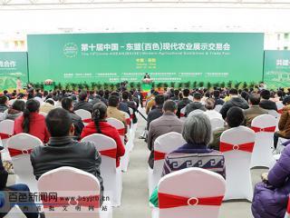 第十届中国—东盟(百色)现代农业展示交易会在田阳举行