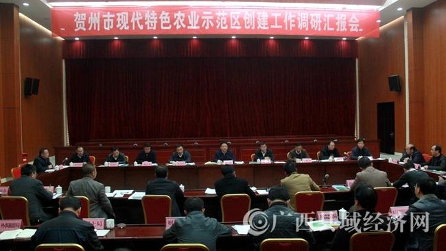贺州市长林冠到平桂区调研现代特色农业示范区创建工作