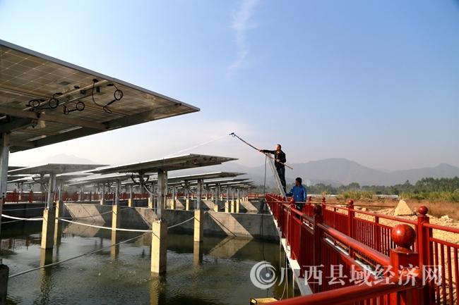 [蒙山县]发展渔光互补光伏发电项目