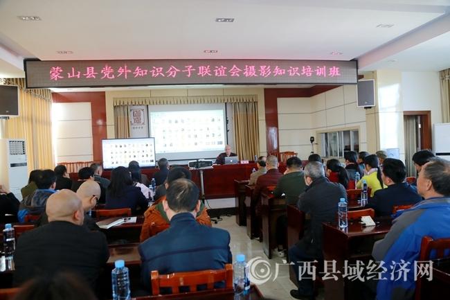 蒙山县党外知识分子联谊会举办摄影知识培训班