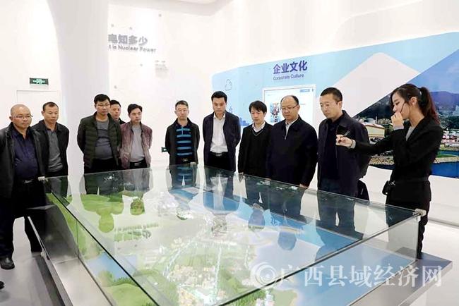[凌云县]党政代表团赴广东深圳走访中广核集团