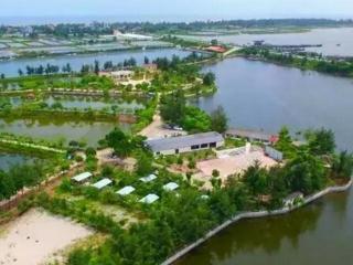 东兴市天隆泰生态产业园荣获全国休闲渔业示范基地!