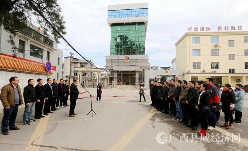图3:1月11日,拍摄的融安县监察委员会成立仪式上仪式现场。(谭凯兴 摄).JPG