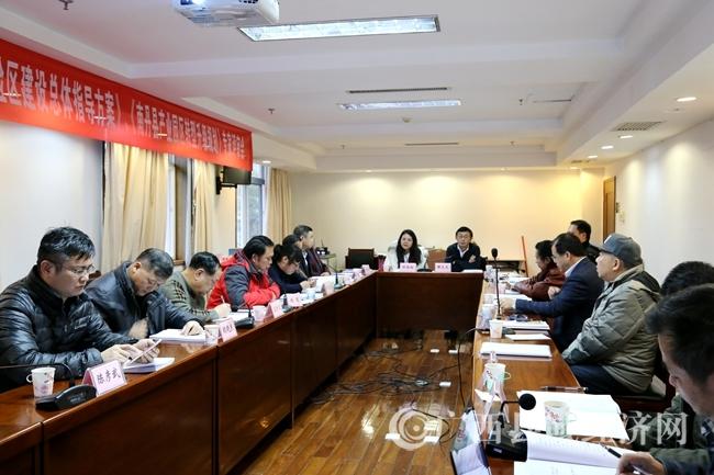 南丹县产业园区转型升级规划及县域经济实验区总体方案通过专家评审