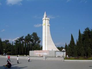 百色起义纪念碑园