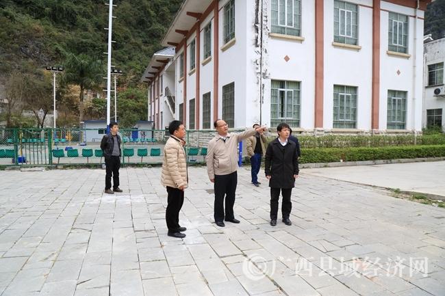 莫庸县长在文广局督查指导工作