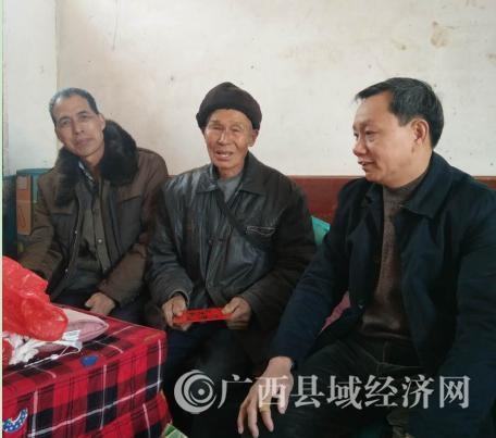 恭城县总工会:走访慰问老党员 结对共建暖春风