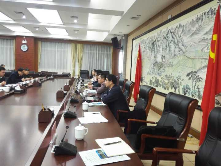 中国长寿养生特色小镇项目工作组赴天等县调研