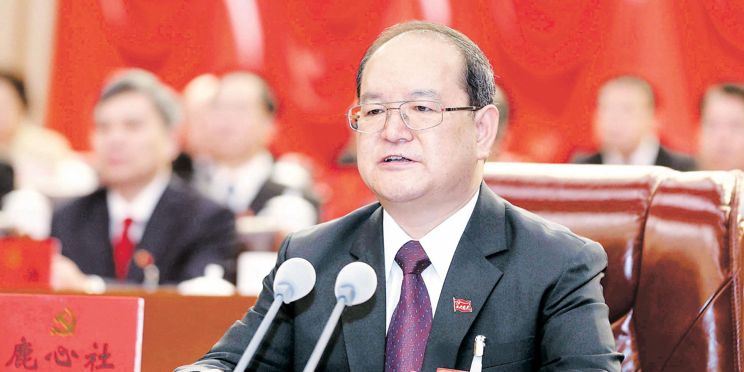 鹿心社任广西区党委书记 彭清华任四川省委书记